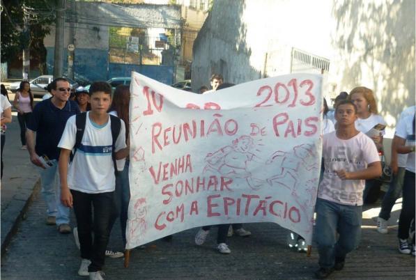 Escola do Rio de Janeiro abre suas portas para a comunidade e transforma a vida dos estudantes