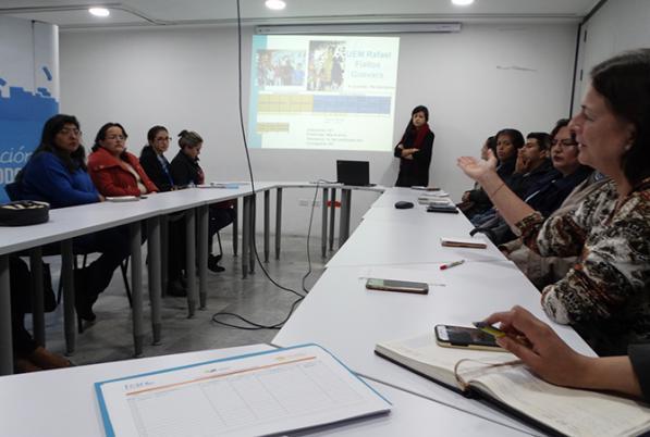 III Encuentro de directivos de las Comunidades de Aprendizaje de la sierra ecuatoriana y autoridades