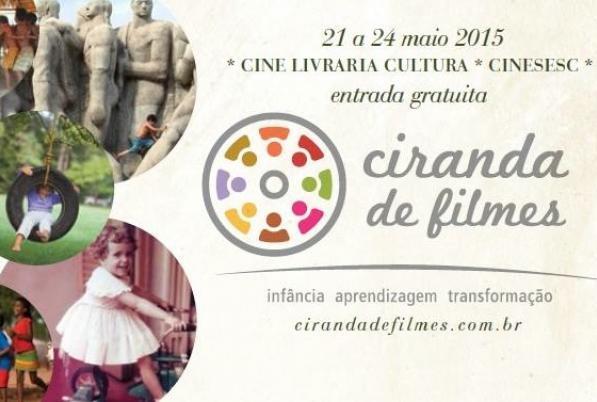 Ciranda de Filmes, mostra de cinema com foco em infância e educação, acontece em São Paulo