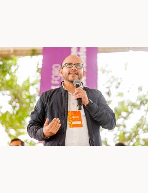 Roberto Barrientos, coordinador general de Comunidad de Aprendizaje Perú