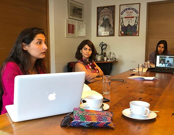 Reunión del equipo del instituto Focus