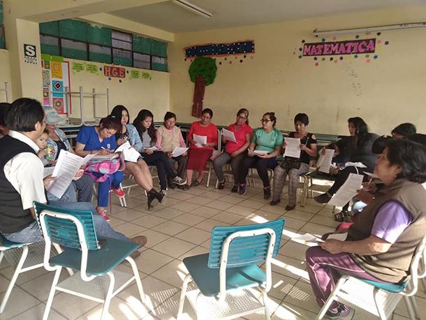 Tertulias Familiares en la escuela IIEE 110 San Marcos