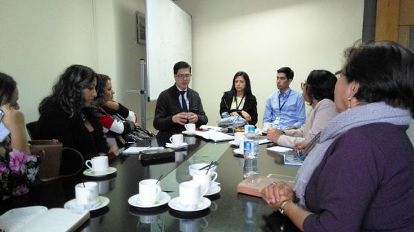 Subsecretario dialoga con directivos de centros educativos de Manabí