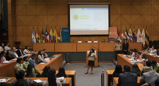 Estudiante de la UEIB Mushuk Pakari comparte su experiencia en CdeA