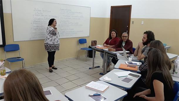 Reunião do polo do Vale do Paraíba, que abrange os municípios de Potim, Taubaté e Tremembé
