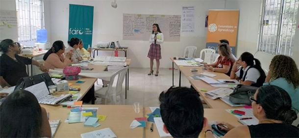 Estudiante participa en la generación de propuestas entorno a la problemática de implementación de CdeA