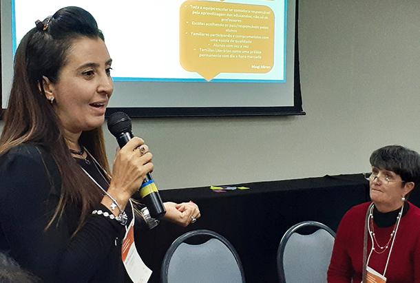 Ana Cristina Gazzoto, técnica da Secretaria de Educação de Mogi Mirim (SP)