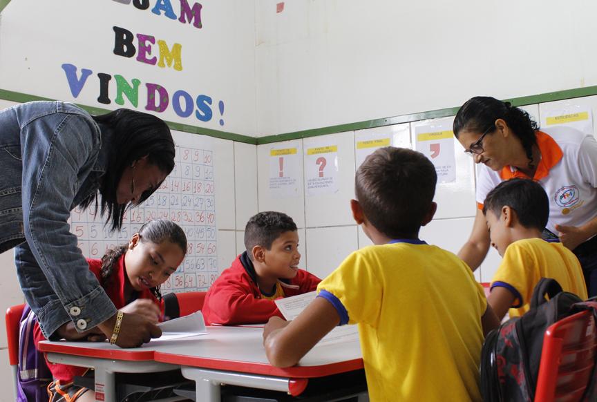 Grupo Interativo na escola Prof Nilda Maria Carvalho (Iraquara/BA)