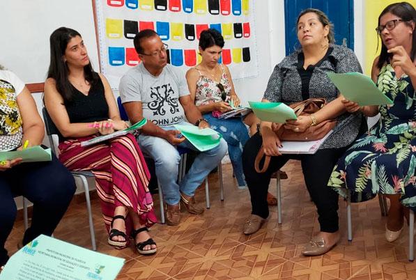 Encontro de formação de gestoras(es) em Filadélfia, Bahia