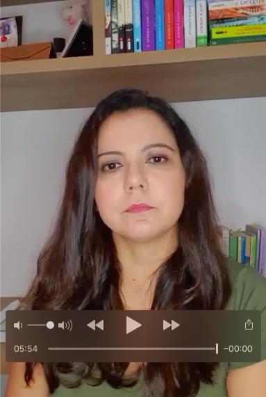 Relato em vídeo de Rita de Cássia, gestora do Centro Educa Mais Professora Margarida Pires Leal (São Luís / Maranhão) sobre o desenvolvimento de GIs online nas aulas remotas
